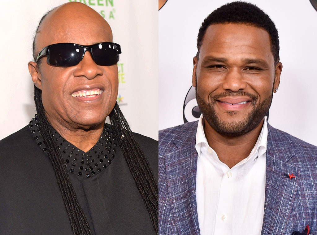 Stevie Wonder, Anthony Anderson