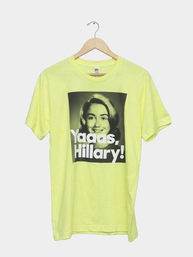 Hillary Clinton, YAAAS shirt