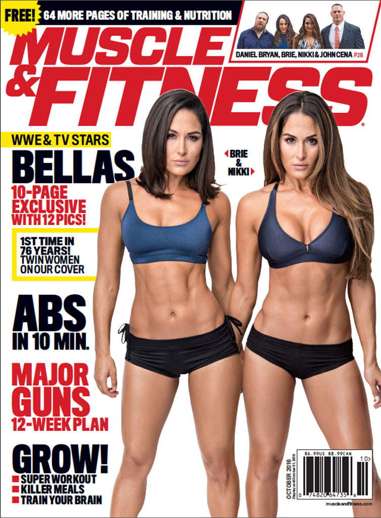 Bella Twins, Muscle and Fitness
