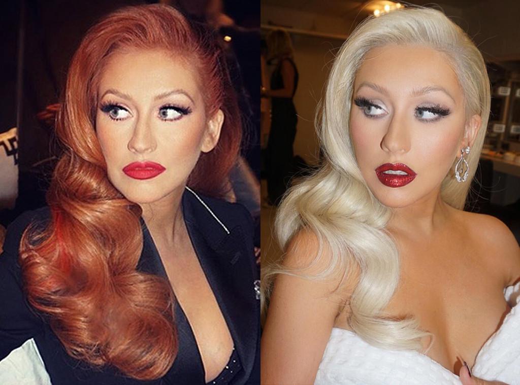 Christina Aguilera Hair Instagram