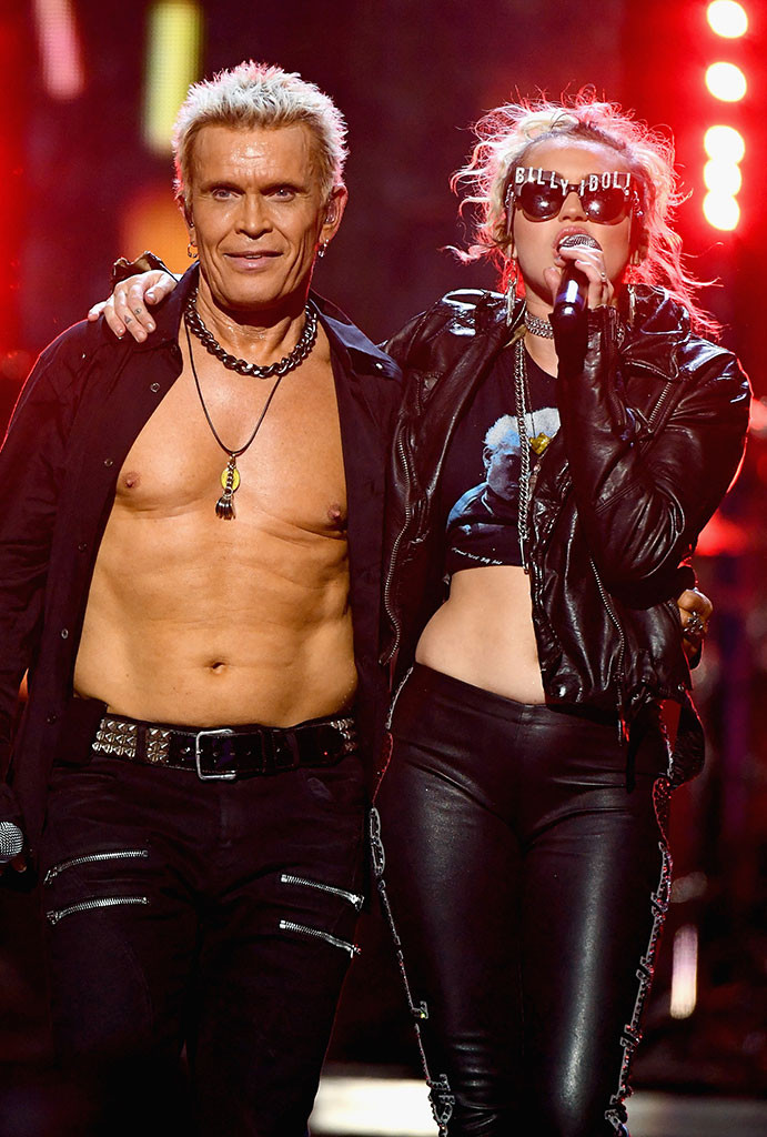 Miley Cyrus, Billy Idol