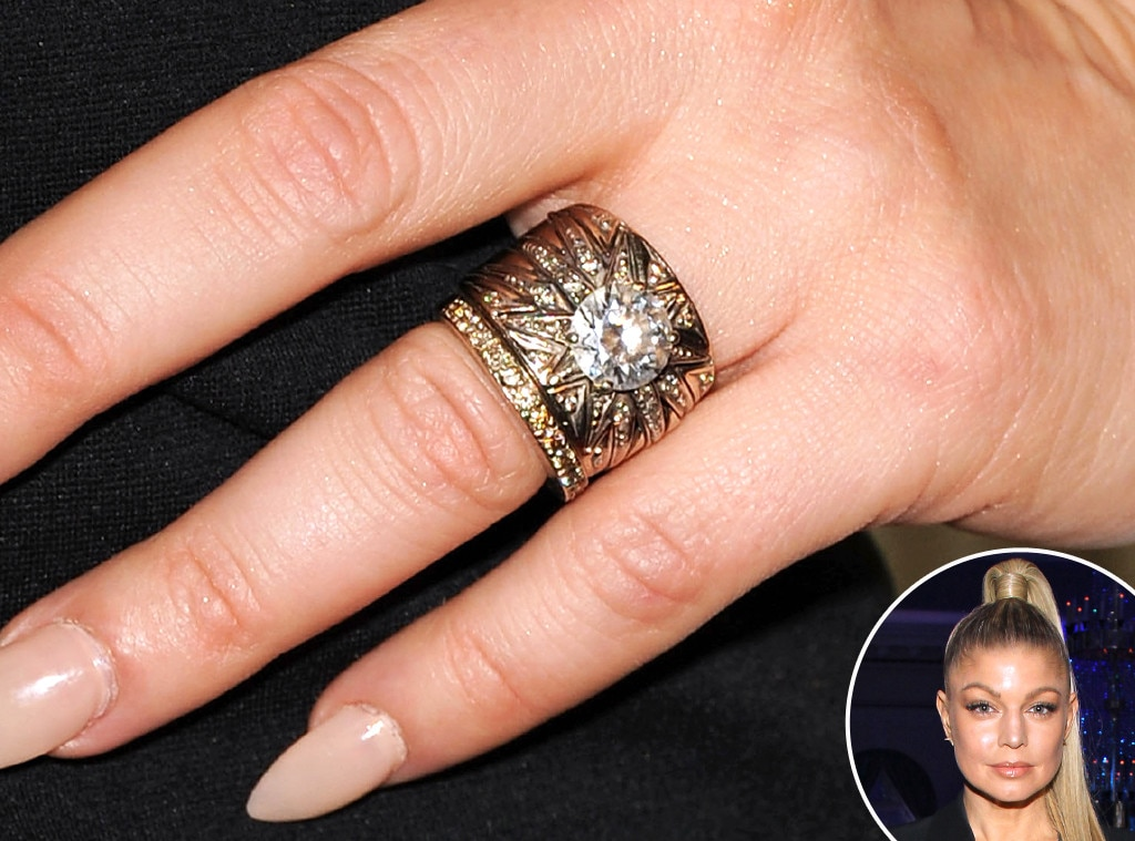 Fergie From Truly Unique Celebrity Engagement Rings E News