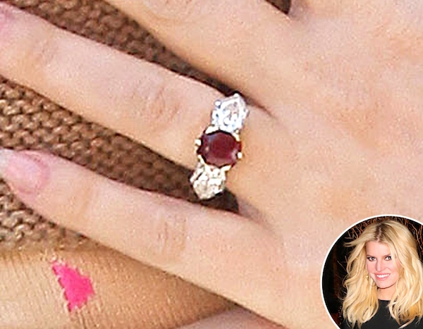 flare andrea dec biel to rings engagement weddings inspired jessica celebrity karr over drool