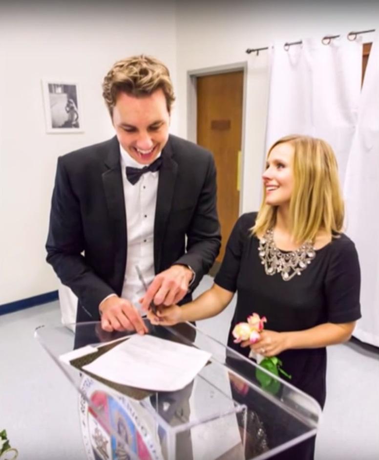 Kristen Bell, Dax Shepard, Wedding