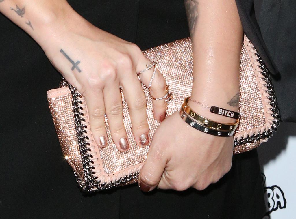 Esc Demi Lovato Nails