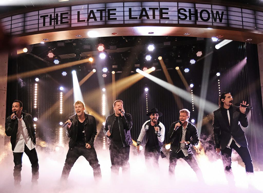 Backstreet Boys, James Corden, The Late Late Show