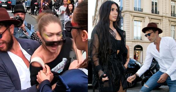 Gigi Hadid, Kim Kardashian