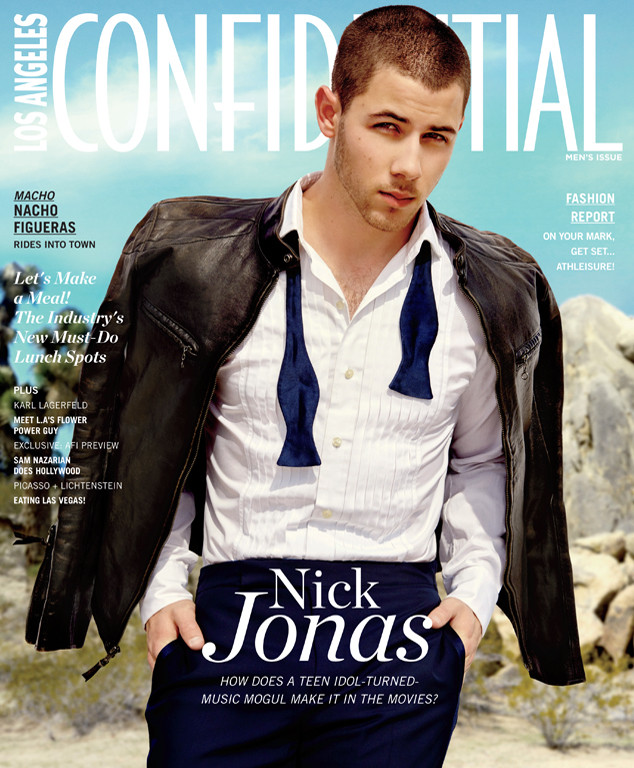 Nick Jonas, LA Confidential