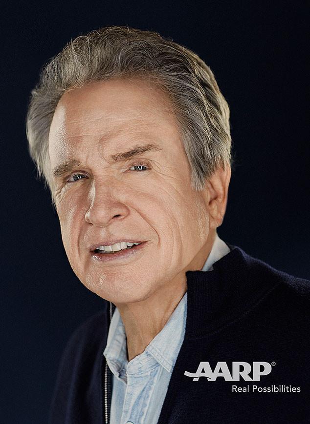 Warren Beatty, AARP The Magazine