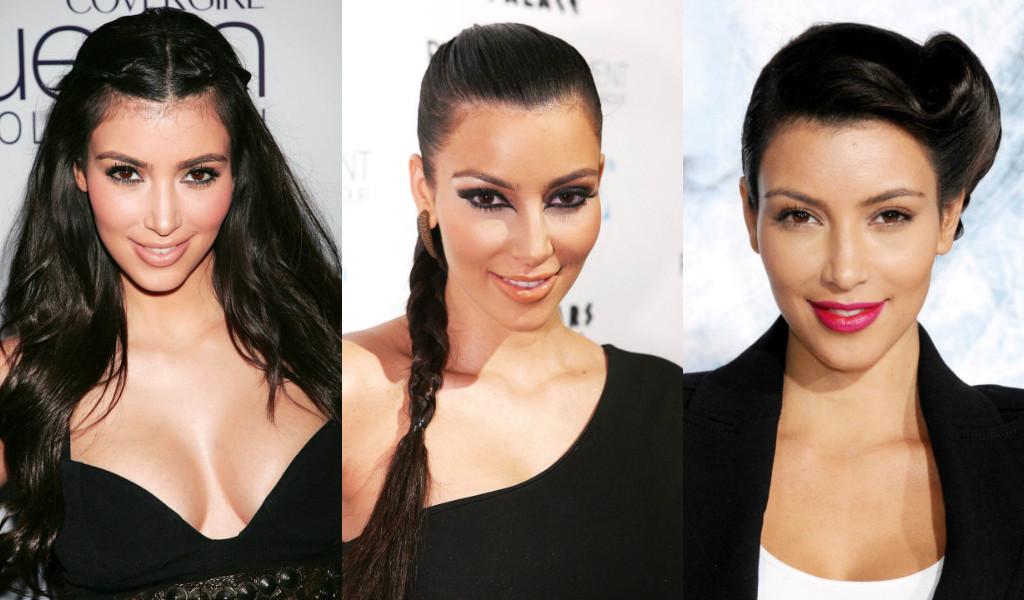 51 Estilos Que Han Pasado Por La Cabeza De Kim Kardashian Fotos