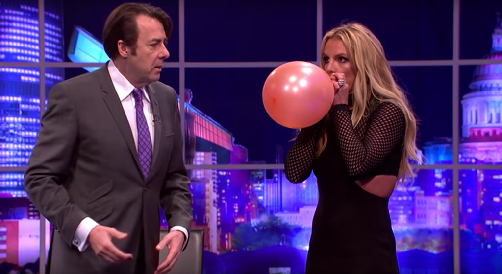 Britney Spears, The Jonathan Ross Show