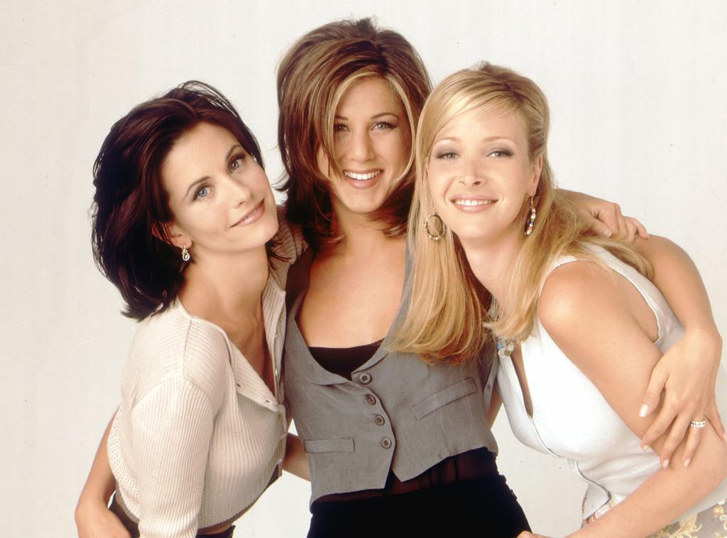 90s Week, TV Girl Squads, Friends, Courteney Cox, Jennifer Aniston, Lisa Kudrow