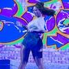 Amber Rose, Maksim Chmerkovskiy, Dancing With the Stars, DWTS