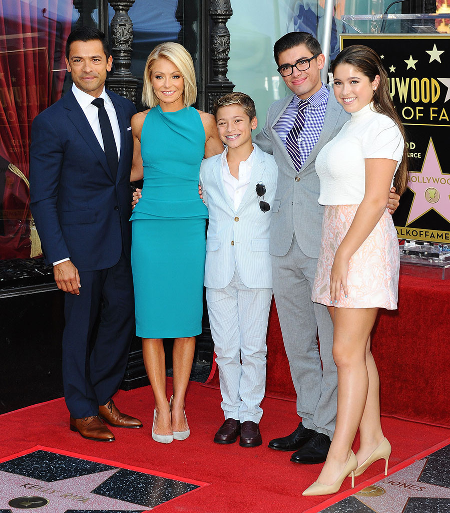 Kelly Ripa, Walk of fame, Instagram