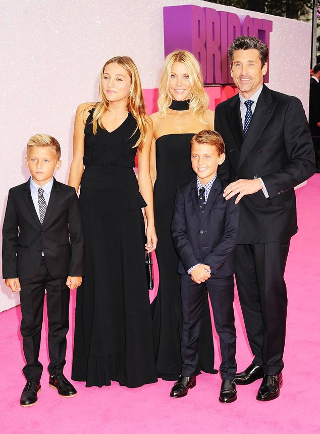 Patrick Dempsey Nimmt Seine Familie Mit Zur Premiere Von Bridget