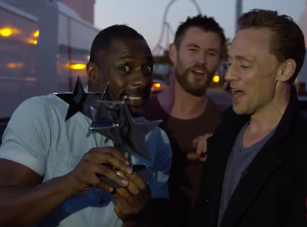 Tom Hiddleston, Idris Elba, Chris Hemsworth