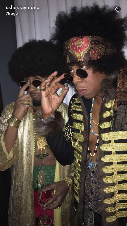 Usher, Jay Z