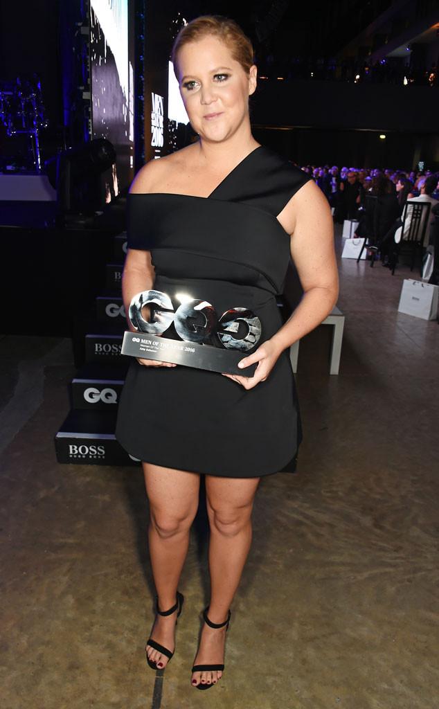 Amy Schumer, GQ Men of the Year Awards, Winner