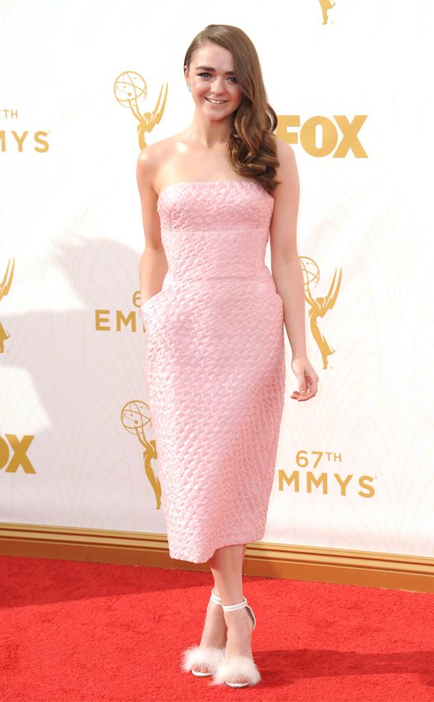 Maisie Williams, Emmy Awards, Pokemon