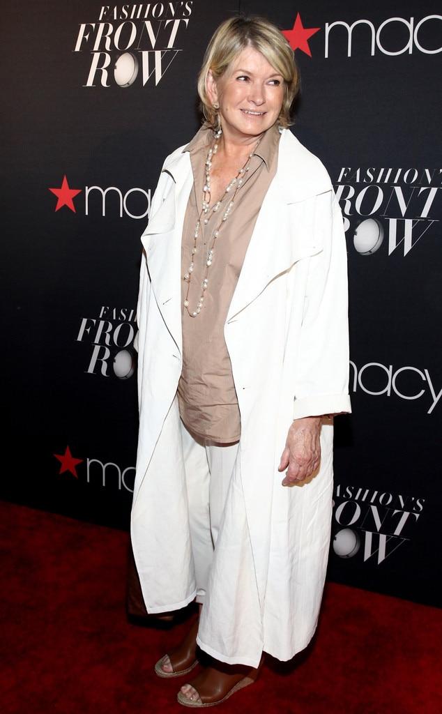 Martha Stewart, Macys Presents Fashions Front Row, NYFW
