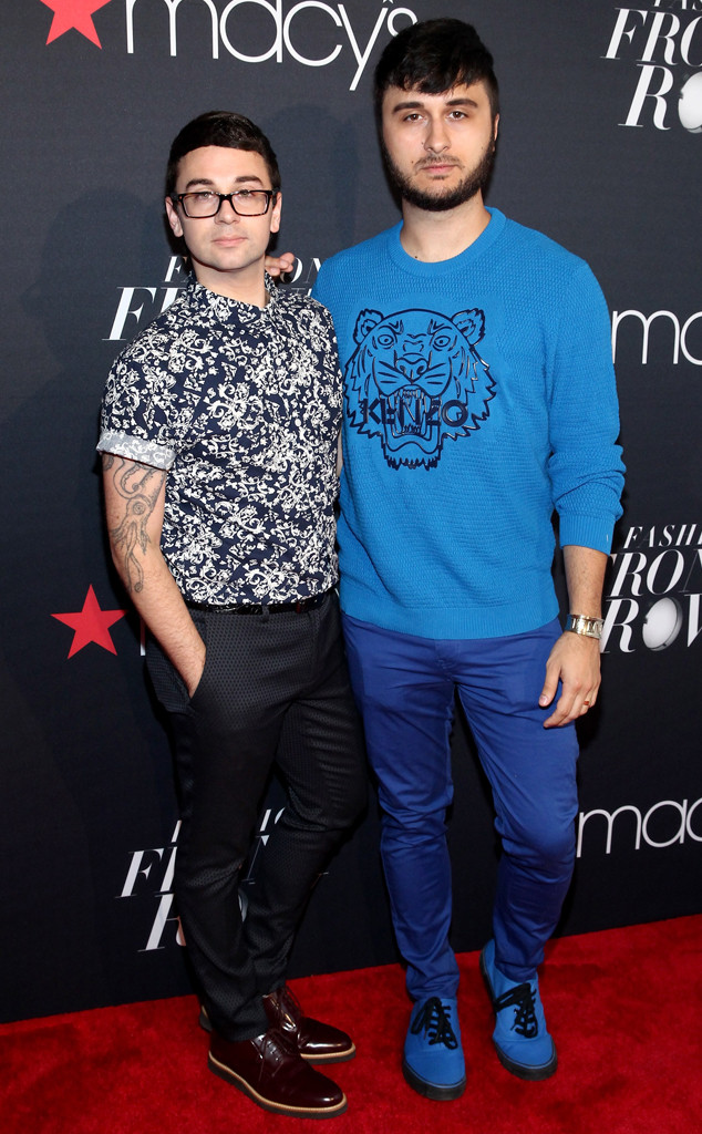 Christian Siriano, Brad Walsh, Macy's Presents Fashion's Front Row, NYFW
