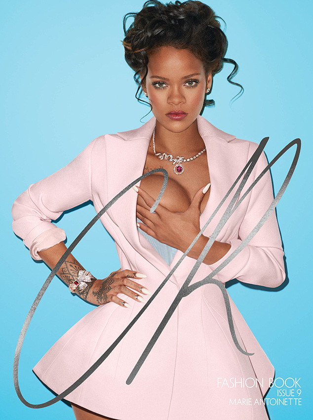 Rihanna Grabs Her Boob in Sexy CR Fashion Book Photo Shoot   E! News ... 0d9ad64fadc