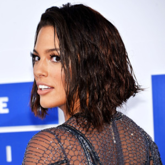 How To Get Ashley Graham S Wet Hair Look With Just 1 Product E News