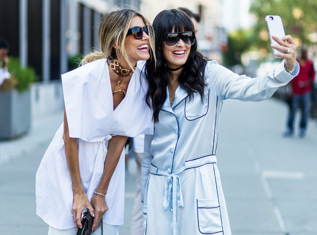 Martha Graeff Mariah Bernardes From Street Style At New York Fashion Week Spring 2017 E News