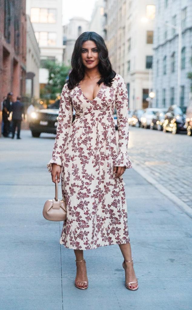 Priyanka Chopra From Best Celeb Street Style From Nyfw Spring 2017 E News