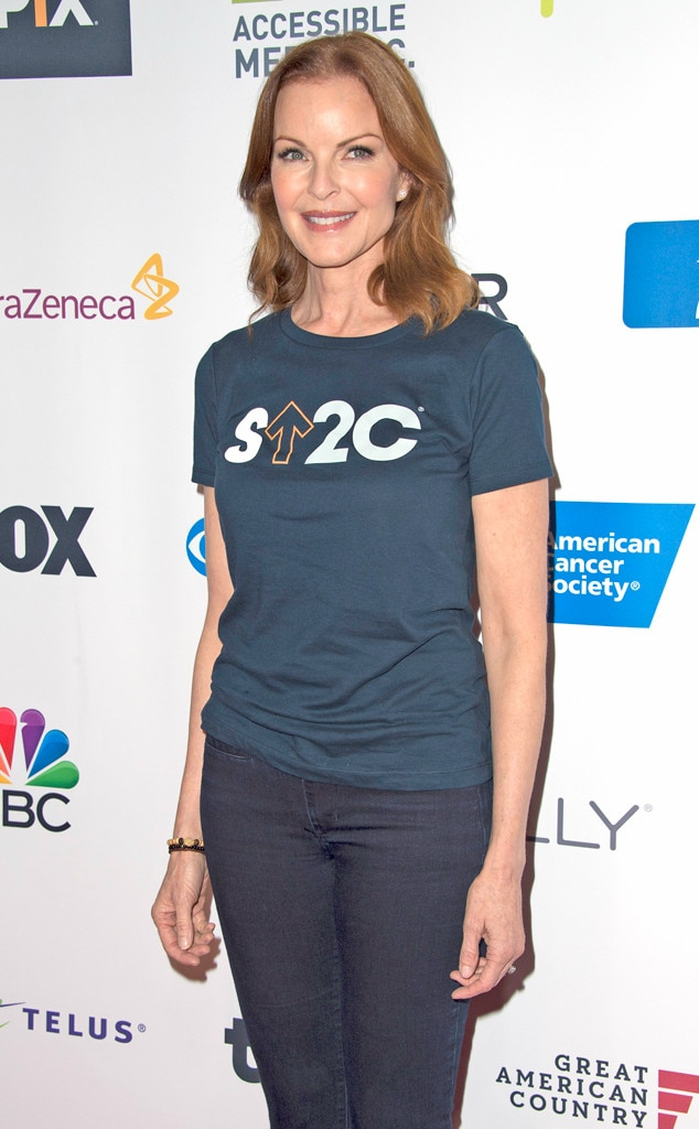 Marcia Cross, Stand Up To Cancer