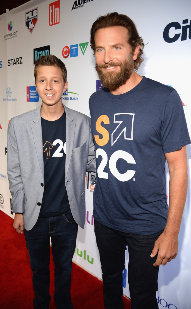 Bradley Cooper, patient Mitch Carbon, Stand Up To Cancer