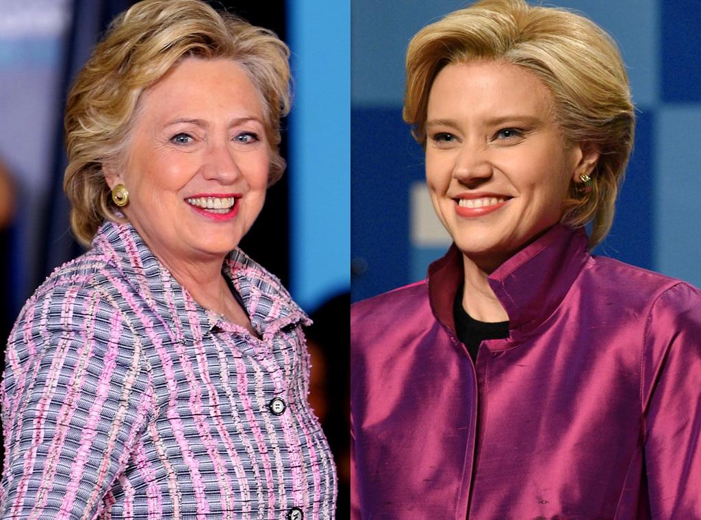 Hillary Clinton, Kate McKinnon, Saturday Night Live, SNL