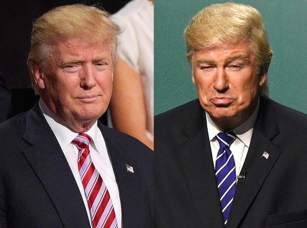 Donald Trump, Alec Baldwin, Saturday Night Live, SNL