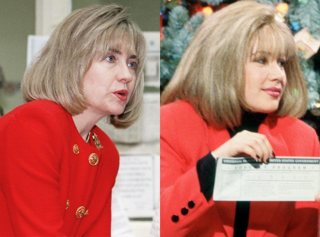 Hillary Clinton, Janeane Garofolo, Saturday Night Live, SNL