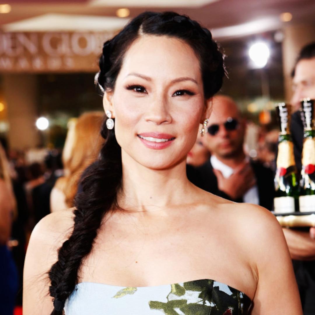Lucy Liu slight stubble peak : CelebrityArmpits