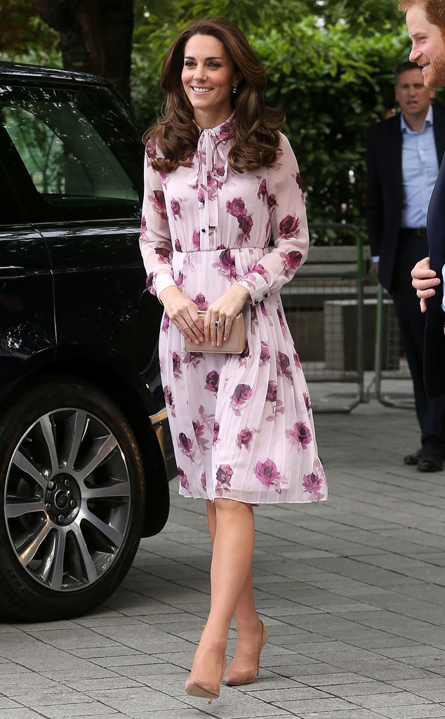 ESC: Kate Middleton, Kate Spade, 2016