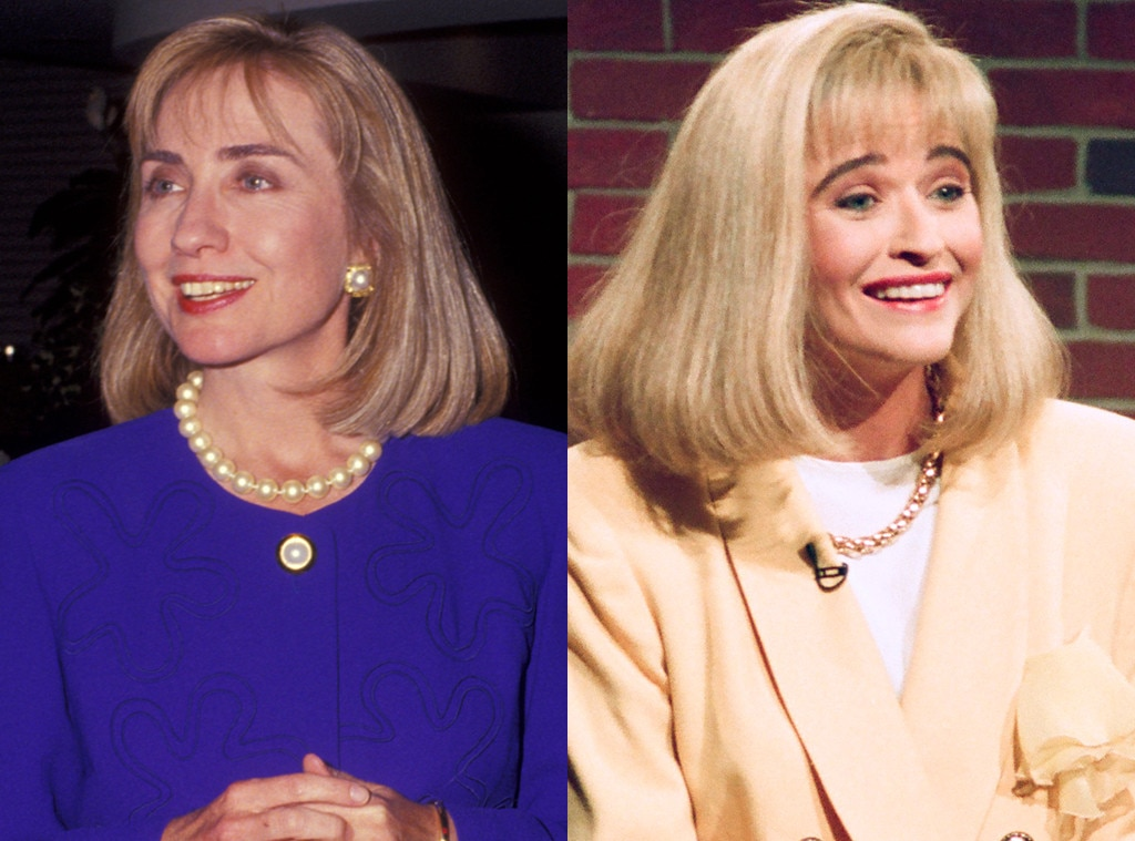 Hillary Clinton, Jan Hooks, SNL, Saturday Night Live
