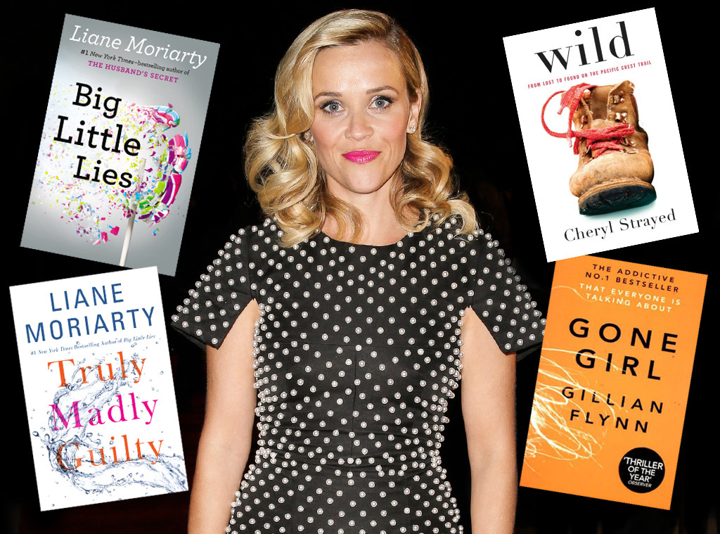 Reese Witherspoon, Books Optioned