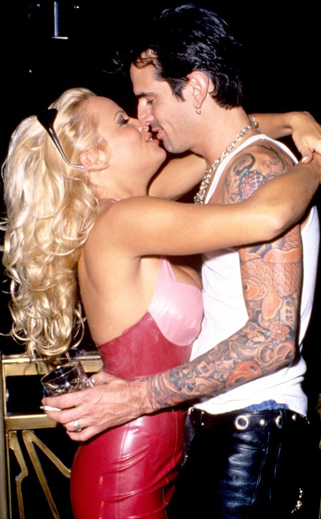 Tommy Lee, Pamela Anderson, 90s Scandals