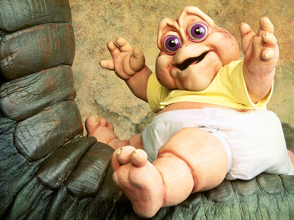'90s TV Catchphrases, Baby Sinclair, Dinosaurs
