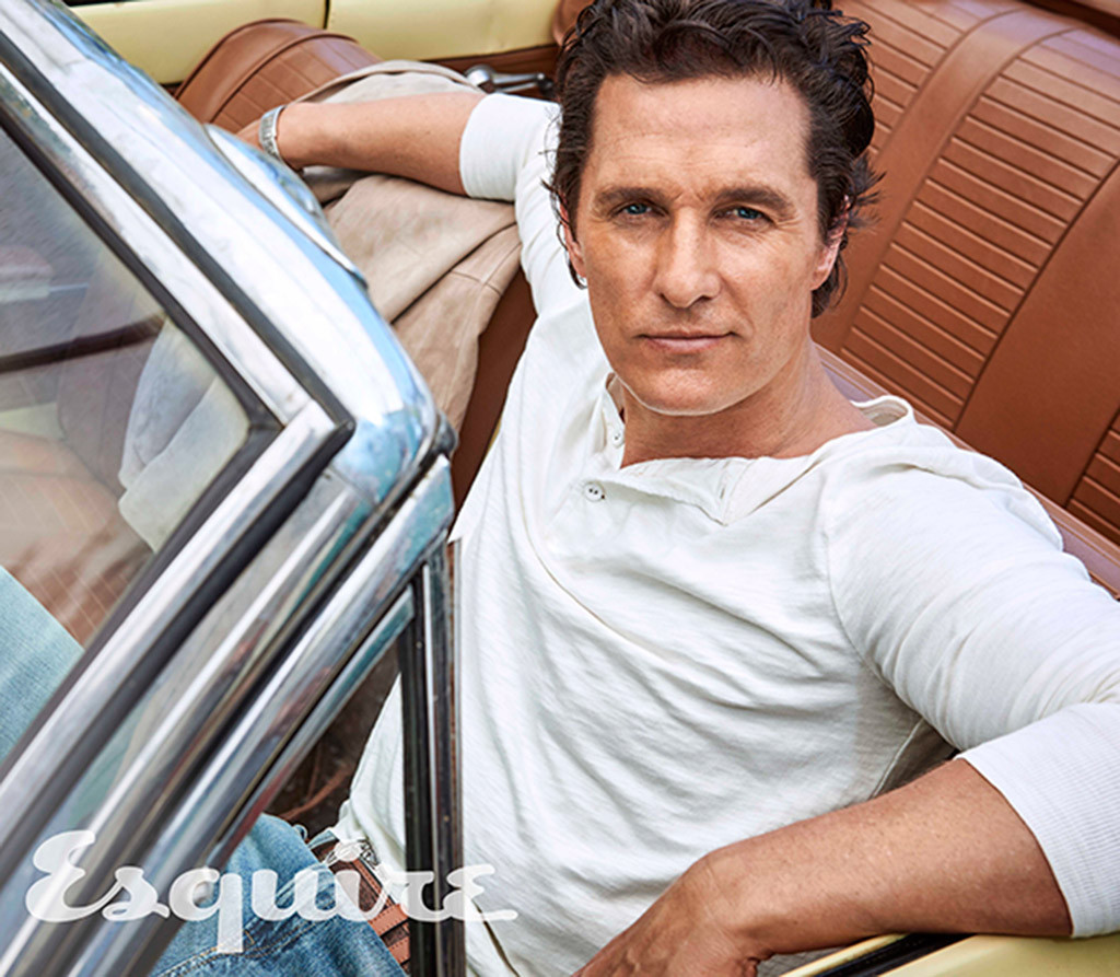 Matthew Mcconaughey Doesn T Give A F K What You Think Of His
