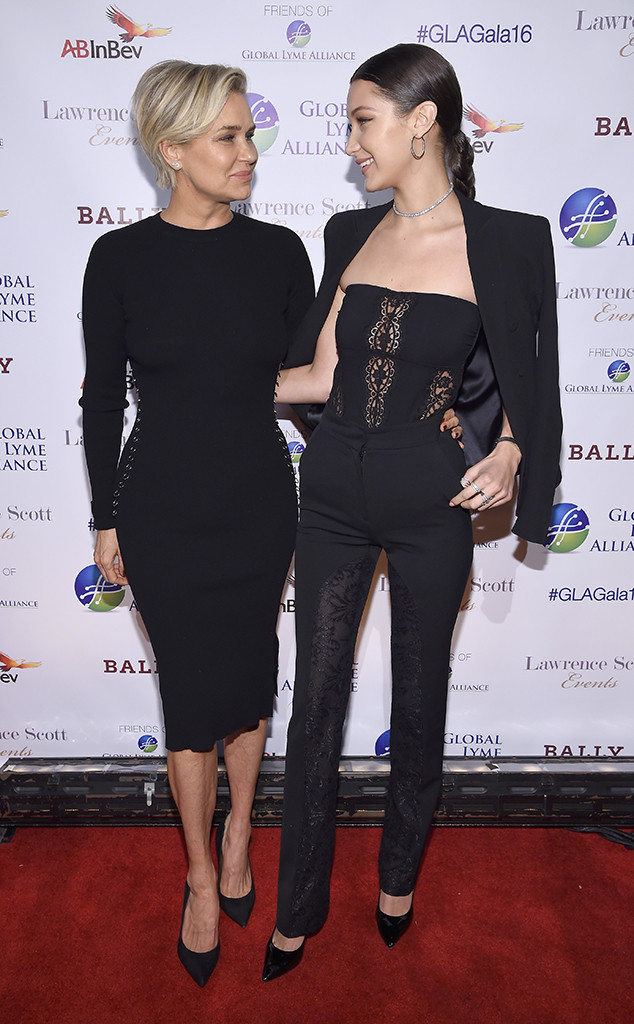 Yolanda Hadid, Bella Hadid