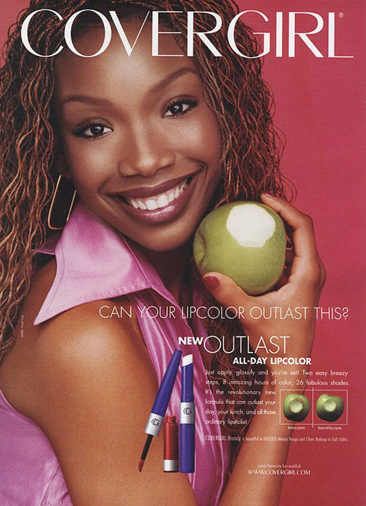 brandy norwood from covergirls through the years