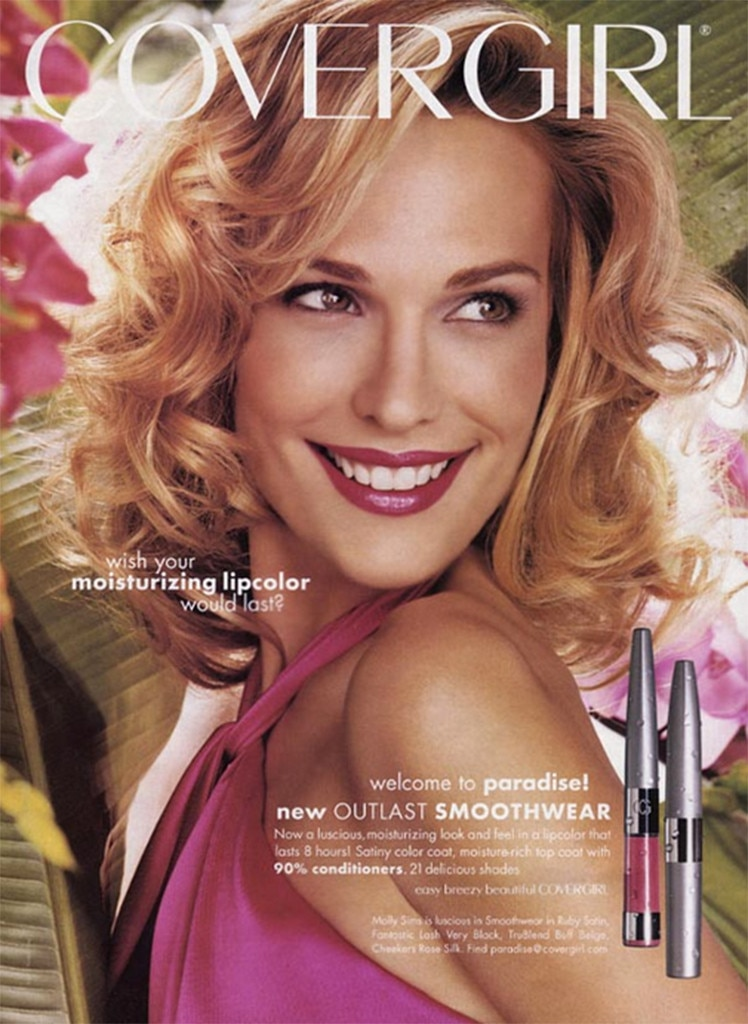 Molly Sims From Covergirls Through The Years E News