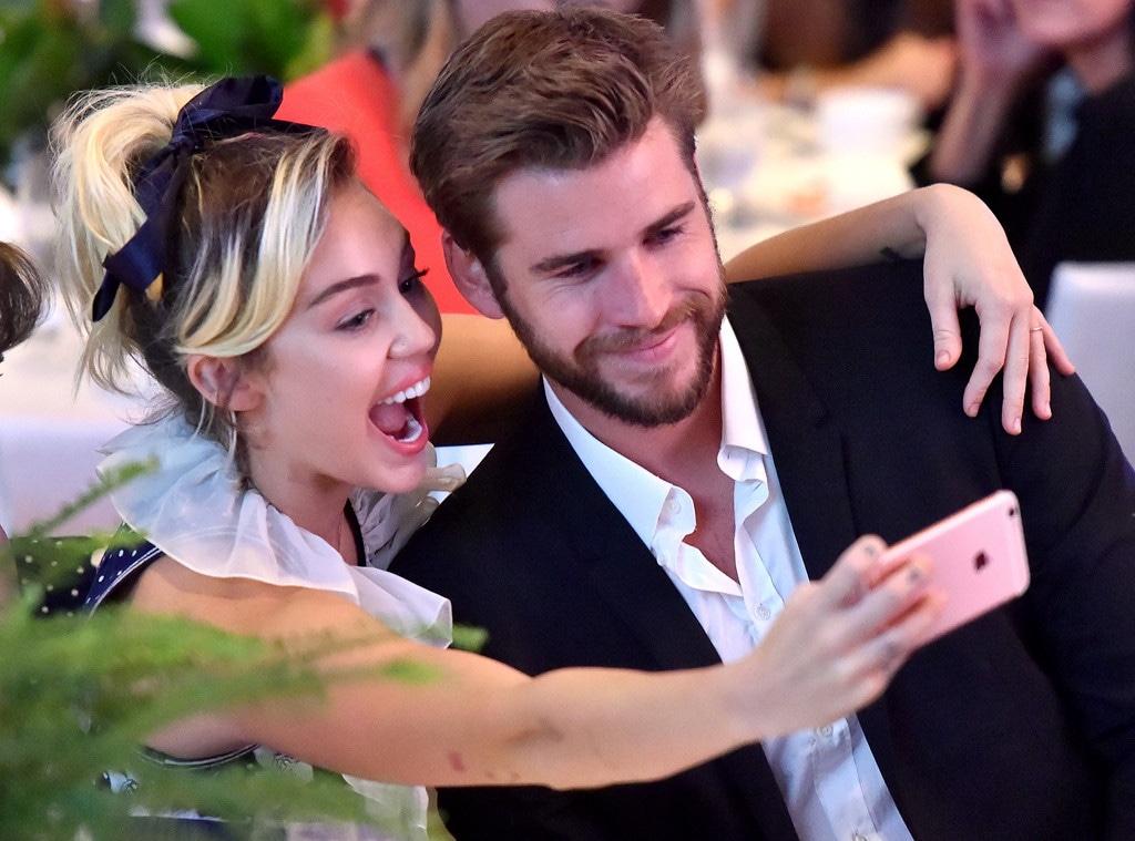 Miley Cyrus, Liam Hemsworth, Variety Power of Women