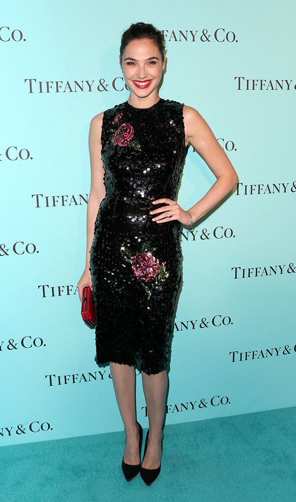 Gal Gadot, Tiffany And Co. Unveiling