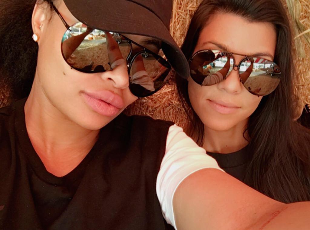 Blac Chyna, Kourtney Kardashian, Snapchat