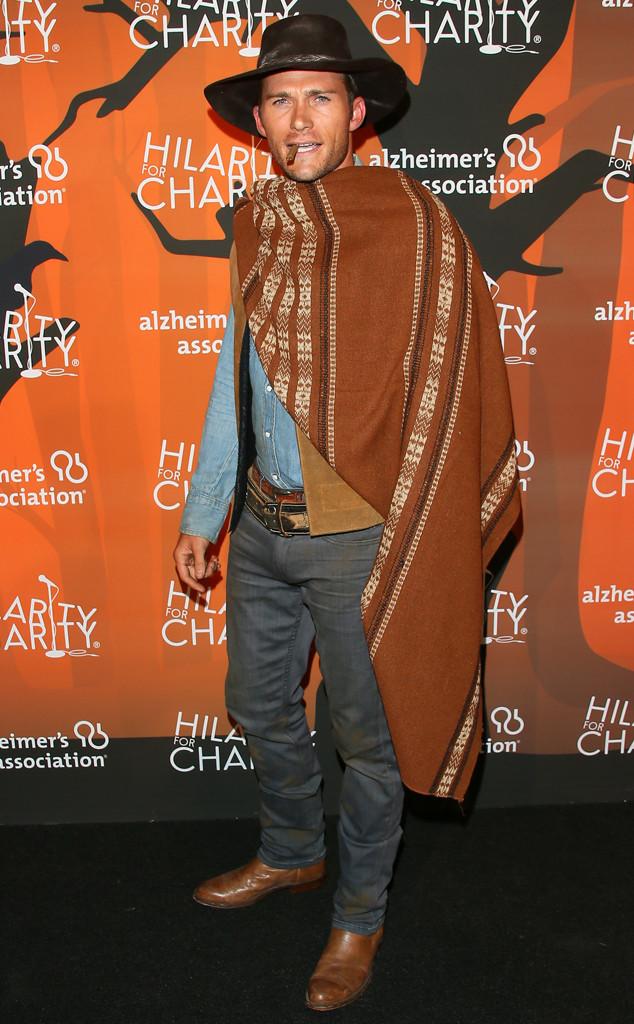 You Gotta See Scott Eastwood's Epic Halloween Costume (Hint