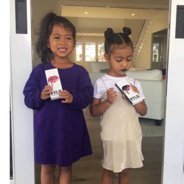 North West, Kylie Jenner, Lip Kit