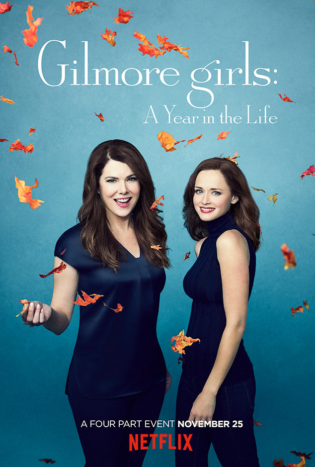 Gilmore Girls: A Year in the Life Key Art